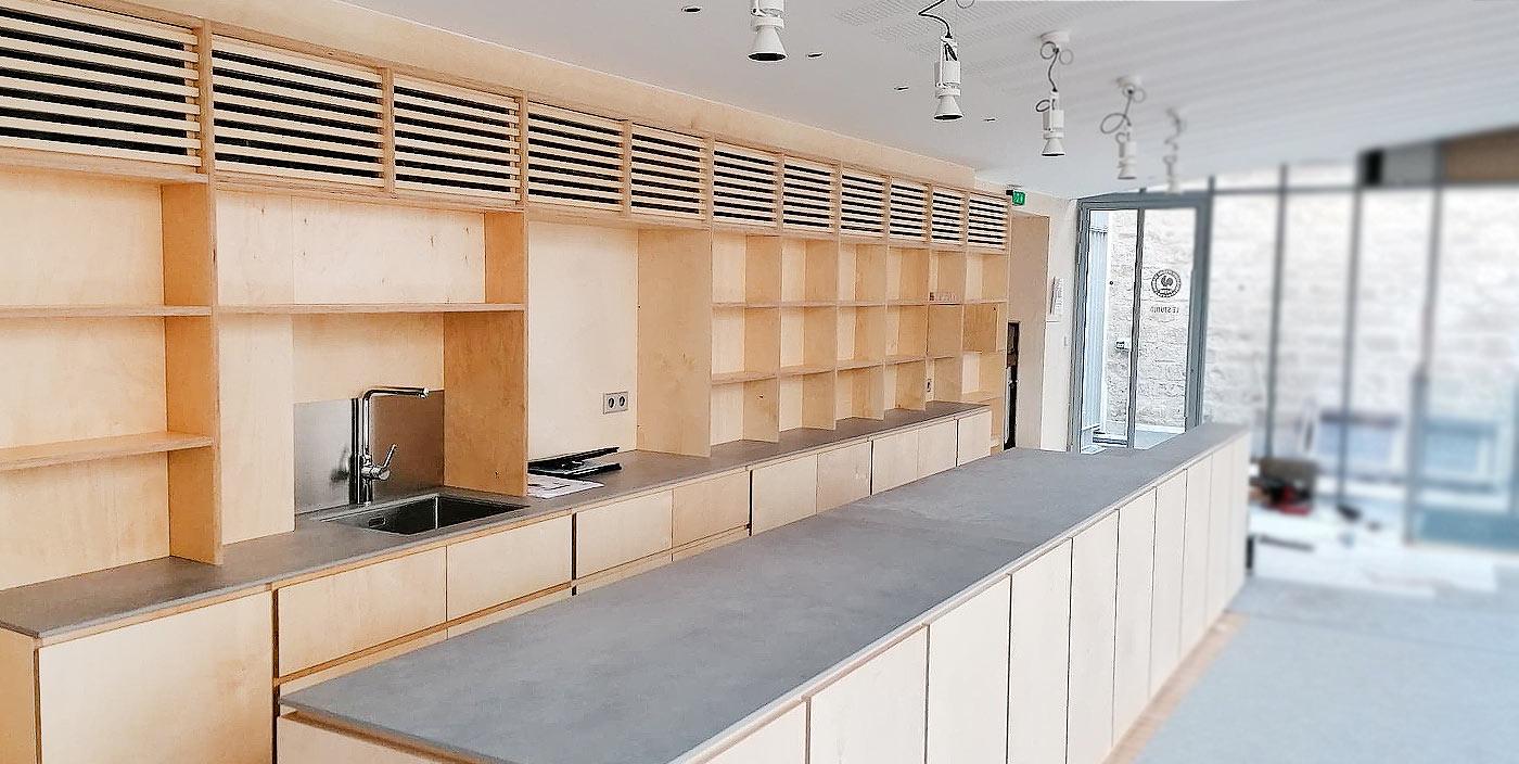 Bookstore/Salon de thé – Fondation Pathé (75)