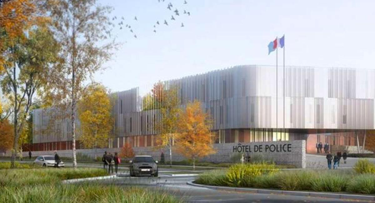 Hôtel de Police – La Rochelle (17)